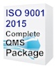 ISO 9001:2015 Quality Manual and Procedures Package